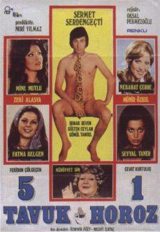 5 Tavuk 1 Horoz 1974 İzle izle